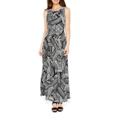R & K Originals Sleeveless Pattern Maxi Dress