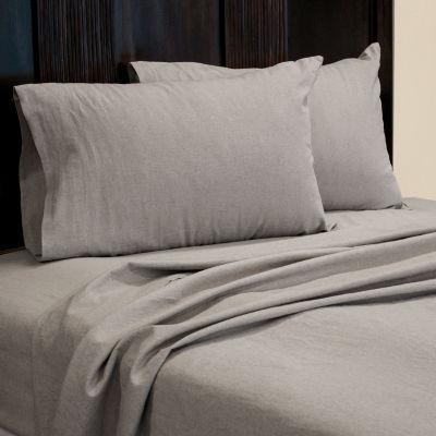 Pacific Coast Textiles Linen Cotton Blend Microfiber Sheet Set