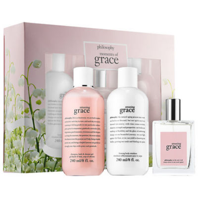 philosophy Amazing Grace Moments Of Grace Gift Set