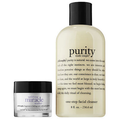 philosophy Purity And Uplifting Miracle Worker Duo