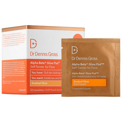Dr. Dennis Gross Skincare Alpha Beta® Gradual Glow Pad Self-Tanner For Face