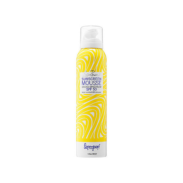 Supergoop! Super Power Sunscreen Mousse Broad Spectrum SPF50