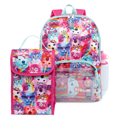 Confetti Backpack - Rainbow Pets 11pc Set