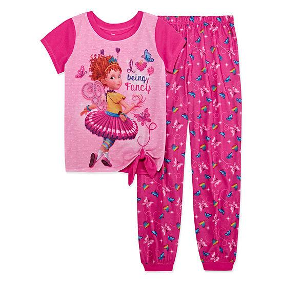 Girls 2-pc. Fancy Nancy Pant Pajama Set Preschool