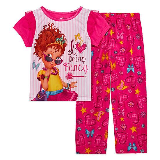 2-pc. Fancy Nancy Pant Pajama Set Toddler Girls