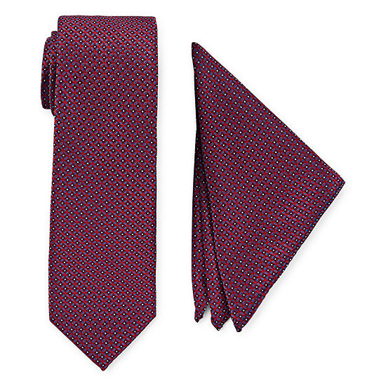 U.S. Polo Assn. Geometric Tie Set