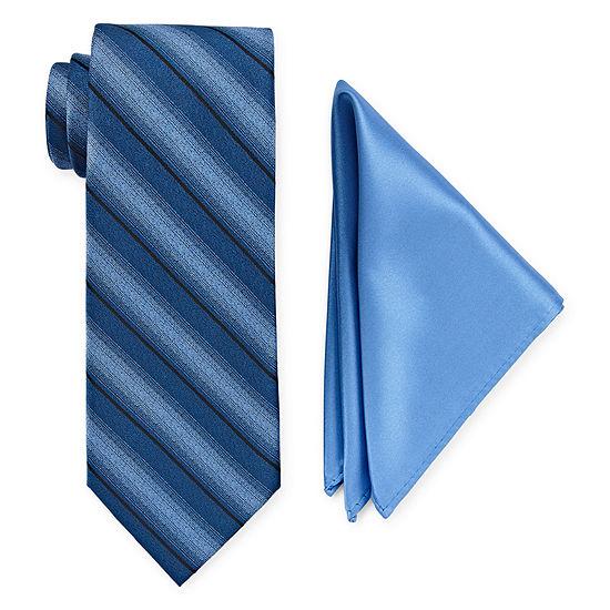 Us Polo Assn Striped Tie Set