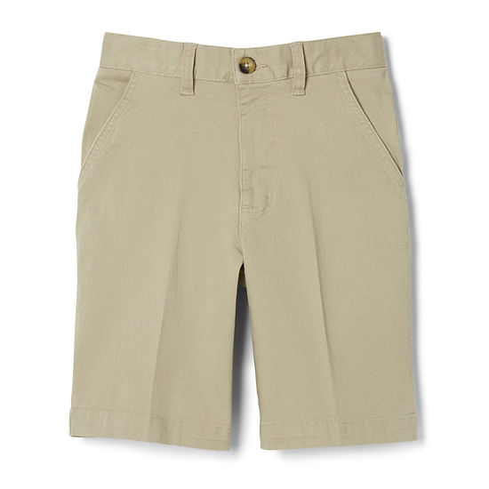 French Toast Little Boys Adjustable Waist Chino Short