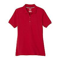 Girls Children Kids School Uniform Blouse Shirt Long /& Short Sleeve 2 Colours