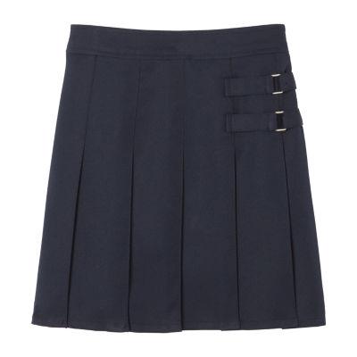 French Toast Girls Adjustable Waist Short Scooter Skirt