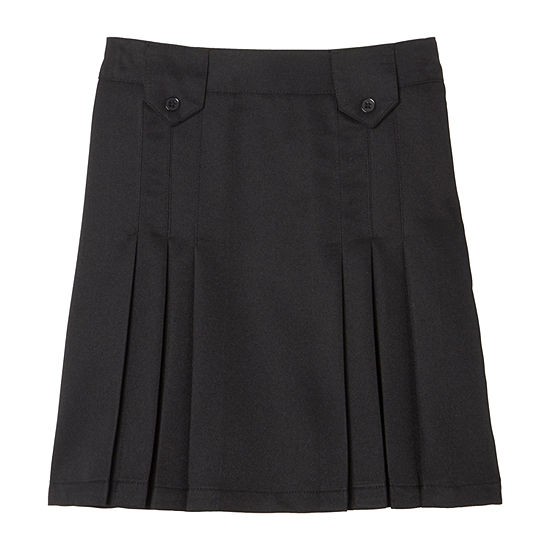 French Toast Little & Big Girls Pleated Skirt