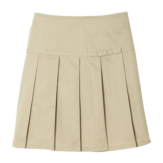 French Toast Little & Big Girls Pleated Scooter Skirt