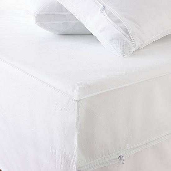 Permashield Antibacterial Extra Strength Basic Bed Protector Set