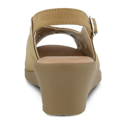 Spring Step Gail Slingback Wedge Sandals