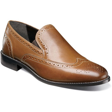 Nunn Bush Norris Men's Leather ... Wingtip Shoes