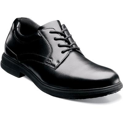 Nunn Bush® Sherman Mens Plain Toe Work Oxfords