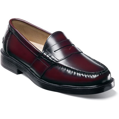Nunn Bush® Lincoln Mens Moc Toe Dress Penny Loafers
