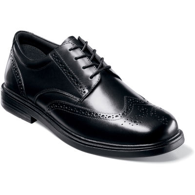 Nunn Bush® Eagan Mens Wingtip Dress Oxford Shoes