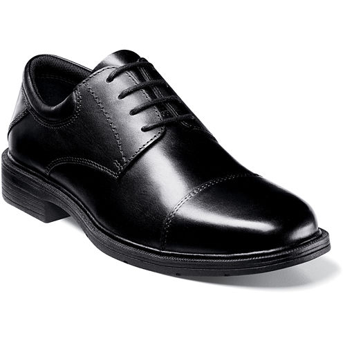 Nunn Bush® Jordan Mens Cap-Toe Oxfords
