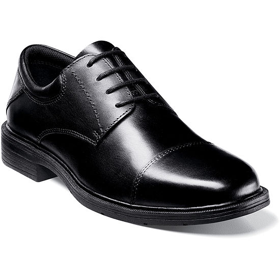 Nunn Bush Jordan Mens Cap Toe Dress Oxford Shoes