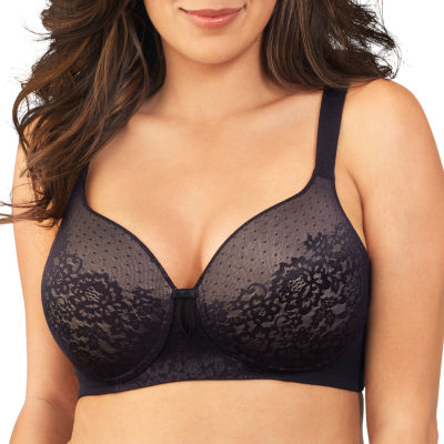 Vanity Fair Flattering Lift All Over Lace Full Figure Wirefree Bra-71262