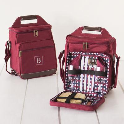 Personalized Picnic Cooler Set Storage Bag