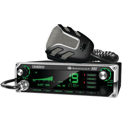 Uniden BEARCAT 880 40-Channel Bearcat 880 CB Radiowith 7-Color Display Backlighting
