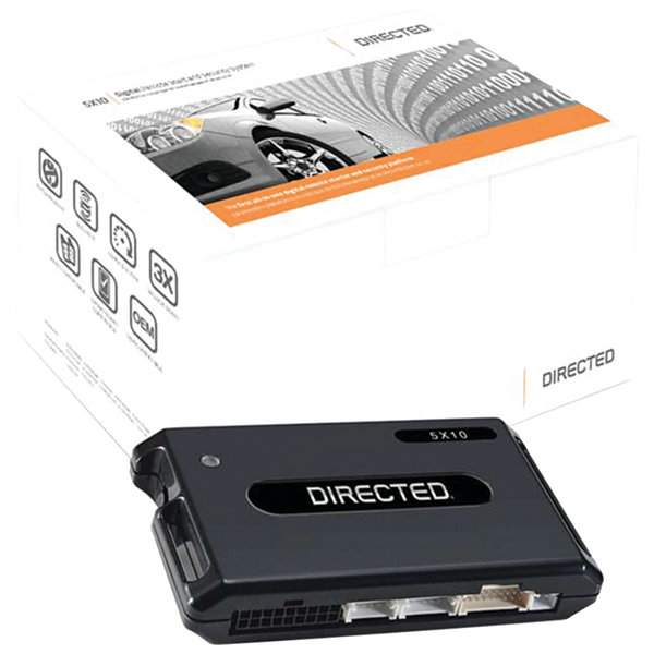 Directed Digital Systems 5X10 Directed 5X10 Digital Remote-Start & Security System with 3LS