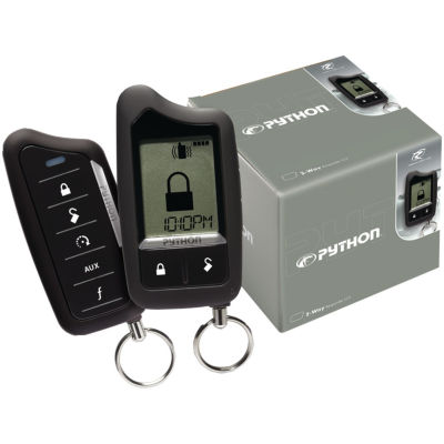 Python 5706P Responder LC3 SST 2-Way Security/Remote-Start System with 1-Mile Range