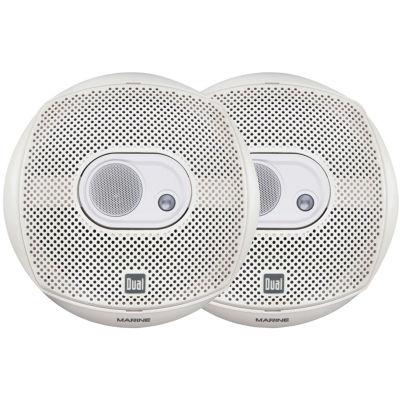 Dual Electronics DMS365 Marine DMS Series 3-Way Speakers
