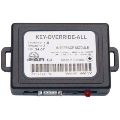 CrimeStopper Security Products KEYOVERRIDEALL KeyOverride Databus Data Port