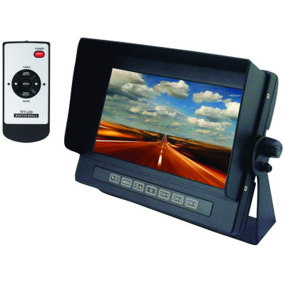 CrimeStopper Security Products SV-8700 7IN Universal Digital Color LCD Monitor