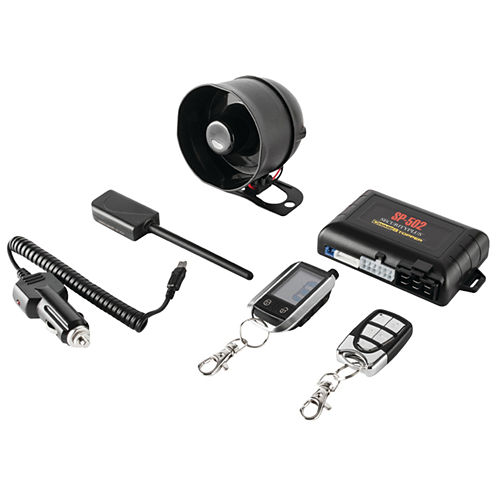 CrimeStopper Security Products SP-502 Universal Deluxe 2-Way LCD Security & Remote-Start Combo