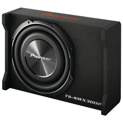Pioneer TS-SWX3002 12IN Preloaded Subwoofer Enclosure Loaded with TS-SW3002S4
