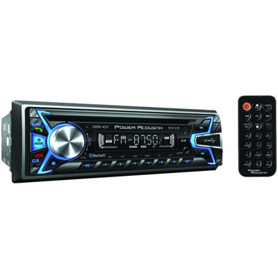 Power Acoustik PCD-51B Single-DIN In-Dash CD/MP3 AM/FM Receiver with USB Playback (With Bluetooth)