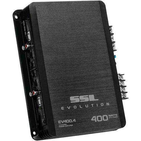 Sound Storm Laboratories EV400.4 EVOLUTION SeriesFull-Range 400-Watt 4-Channel MOSFET Class AB Amp