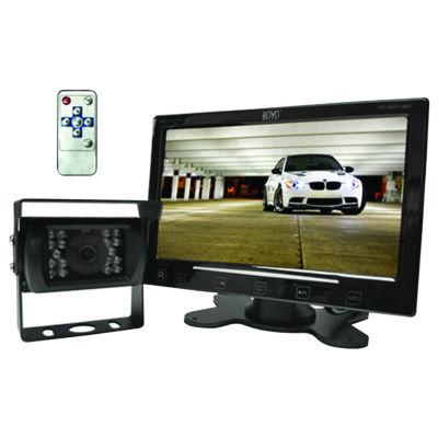 BOYO Vision VTC307M 7IN Digital TFT/LCD Monitor with Heavy-Duty Bracket-Mount Camera