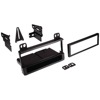 Best Kits and Harnesses BKFMK550 In-Dash Installation Kit (Ford/Lincoln/Mercury 1995 & Up Single-DINwith Pocket)