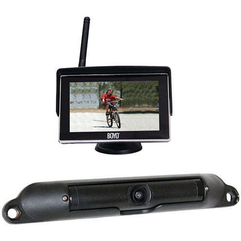 BOYO Vision VTC424R Wi-Fi High-Resolution RearviewCamera System with 4.3IN LCD Monitor