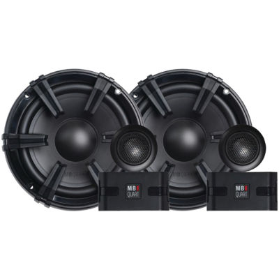 MB Quart DC1-216 Discus Series 6.5IN 90-Watt Component Speaker System with 1IN Tweeters