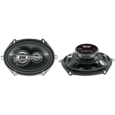 Lanzar Car Audio MX573 MAX Series 3-Way Triaxial Speakers (5IN x 7IN; 440 Watts)