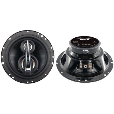 Lanzar Car Audio MX63 MAX Series 3-Way Triaxial Speakers