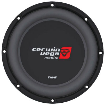 Cerwin-Vega Mobile HS102D HED Series DVC Shallow Subwoofer (10IN; 2?)