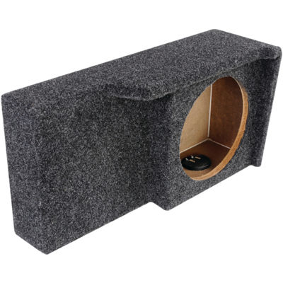ATREND A371-10CP BBox Series 10IN Subwoofer Box for Ford Vehicles (Single Downfire)