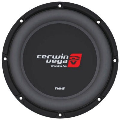 Cerwin-Vega Mobile HS122D HED Series DVC Shallow Subwoofer (12IN; 2?)