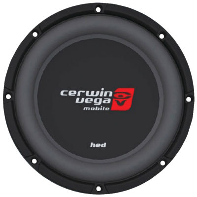 Cerwin-Vega Mobile HS124D HED Series DVC Shallow Subwoofer (12IN; 4?)