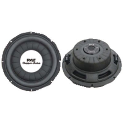 Pyle PLWCH12D Chopper Series Shallow-Mount Subwoofer