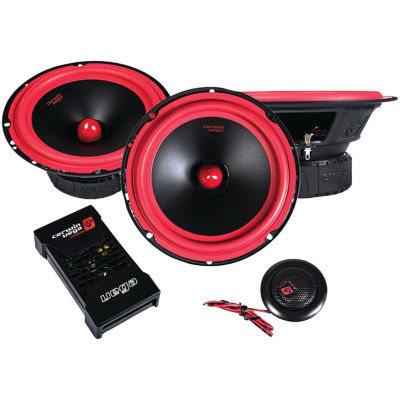 Cerwin-Vega Mobile V465C Vega Series 6.5IN 400-Watt 2-Way Component Speaker System