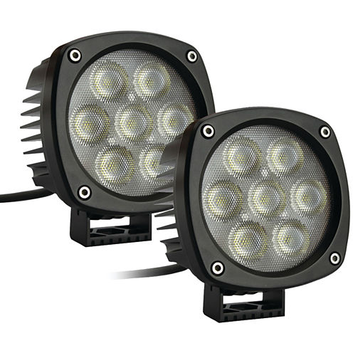 Race Sport Inc. RS-4CREE-35W-2 4.3IN 35-Watt 5;000-Lumen Marine LED Spotlights (2 pk)