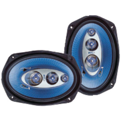 Pyle PL6984BL Blue Label Speakers (6IN x 9IN; 4 Way)